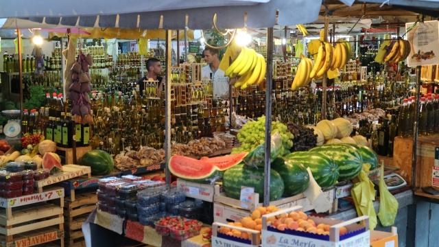 Trogir marknad