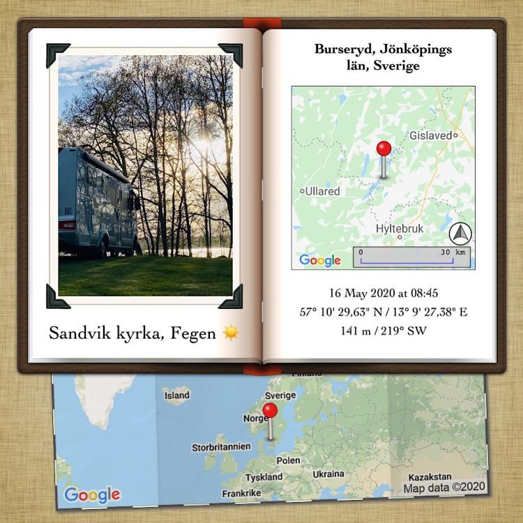 Sandvik kyrka, Fegen ☀️